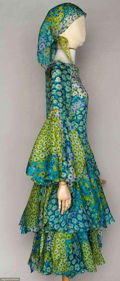 Pierre Cardin Couture Petal Dress, Paris, 1970s, Augusta Auctions, November 13, 2013 - NYC