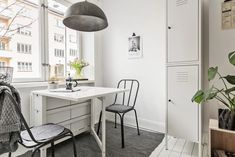 kitchen - small space - Ikea NORDEN table