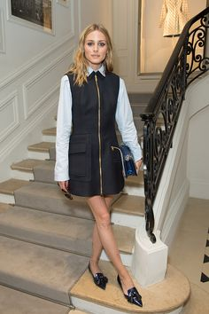 Olivia Palermo - Christian Dior Fall 2016 Haute Couture show Front Row - July 4, 2016 #pfw
