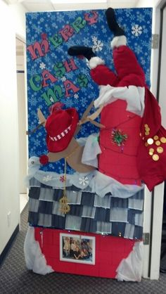 Nice Decorate Office Door Front Door Christmas Door Decorating Contest Pinterest 69 Best Office Door Contest Images Decorated Doors Christmas
