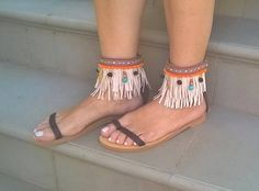 Bohemian sandals,leather sandals,hippie sandals,Greek leather sandals,summer shoes,handmade sandals,womens sandais,gifts,ankle wrap sandals by FEDRAinspirations on Etsy