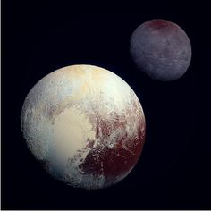 Pluto Paints Its Largest Moon Red: NASA