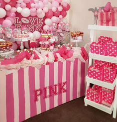 Ssshh it's a Victoria Secret Pink party  | CatchMyParty.com