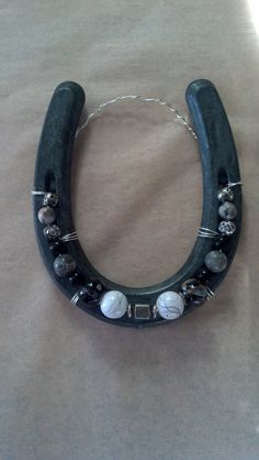 Western Decor Beaded Horseshoe All Shades of by FlowerFelicity, $12.99