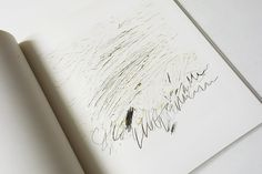 Letter of Resignation   Cy Twombly