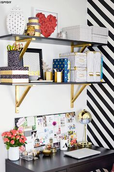 Desk Styling Inspiration | sheerluxe.com