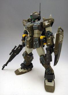 HGUC RGM-79SC GM Sniper Custom modeled by kicksnare