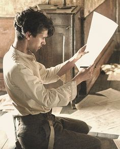 Ben Whishaw as Robert Frobisher in 'Cloud Atlas'. I think a separate board for all the wonderful 'Cloud Atlas' pics may be required...