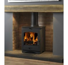 Looking for a DEFRA approved stove? These stoves allow you to burn wood in smoke controlled areas. Available with free UK delivery from Direct Stoves. Wood Burner Fireplace, Inglenook Fireplace, Home Fireplace, Living Room With Fireplace, Fireplace Design, Fireplaces, Fireplace Ideas, Gas Stove Fireplace, Cottage Fireplace