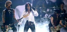 """Johnny Depp, Alice Cooper, and Joe Perry Go """"Hard Rock"""" With New Hollywood Vampires Album"""