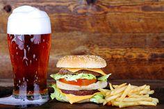 Harmonização de cerveja com hambúrguer