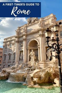 A First-Timer's Guide to Rome | A super detailed travel guide to the Eternal City, what to do in Rome whether you have one day or a week...things to do in Rome, what to see and what to skip, where to eat, sunset and sunrise Rome ideas, and more. Italy travel tips, Rome itinerary ideas, and Rome for solo travelers. Should you visit the Colosseum, Vatican Museum, Spanish Steps, & more! #rome #italy Italy Travel Tips, Rome Travel, Travel Destinations, Us Travel, Travel Europe, World Travel Guide, Travel Guides, European Destination, European Travel
