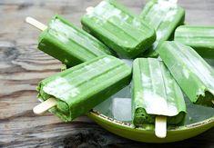 Green Smoothie Breakfast Popsicles {Popsicle Week}