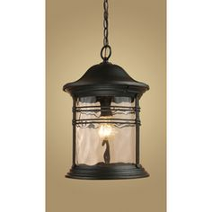 Westmore Lighting 11-in W Madison Matte Black Pendant Light with Clear Shade