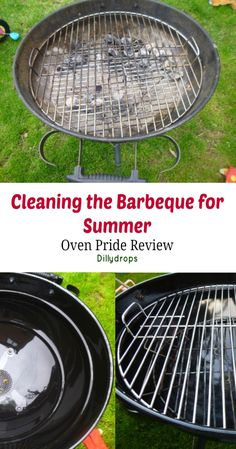 Cleaning the barbeque for summer: Oven Pride Review. How to clean your barbeque quickly and easily for the summer. Fantastic results for a clean barbeque. BBQ, summer, cleaning. Getting ready for summer.