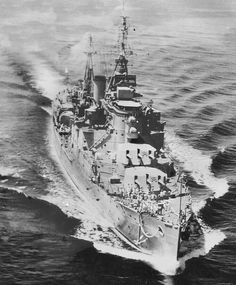 HMS Mauritius light cruiser 1946