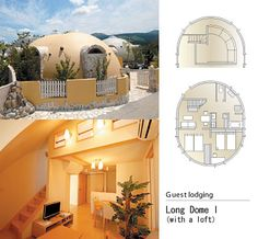 Semi-permanently Living Space – The Dome House   DesignShell.Com   Home Design, Interior Design, Furniture, Architecture, Decorating