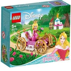 Adventure awaits fans of Disney Princess Aurora in the LEGO Disney Aurora's Royal Carriage 43173 set. This adorable playset includes a magical pink-and-white carriage with translucent top inspired Disney's Sleeping Beauty. Lego Disney Princess, Disney Rapunzel, Lego Princesse Disney, Princesa Disney Aurora, Disney Diy, Disney Frozen, Disney Pixar, Disney Stars, Lego Friends