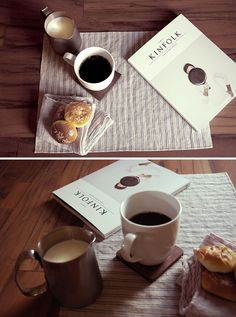MONOSQUARE dining ware with Kinfolk Magazine Volume Five