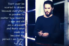 """Mi piace"": 9, commenti: 2 - MARSdollspromo  (@marsdollspromo) su Instagram: ""For the #Dreamers and the #Believers of the world - a #quote from #JaredLeto #JL #JLQuote #30stm…"""