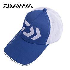 Daiwa Fishing Hat Adult Men Adjustable Angel Sunshade Sport Baseball Fisherman Hat Cap Hat With Letter Outdoor Tennis Hiking Hat