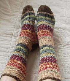 I want to learn to make socks like these