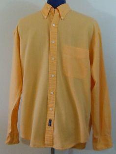 Gant - Orange Pigment Dyed Oxford Cotton Shirt