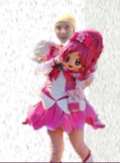 Glitter Force, Pretty Cure, Fursuit, Laser, Princess Peach, Behind The Scenes, Harajuku, Nerd, Geek Stuff