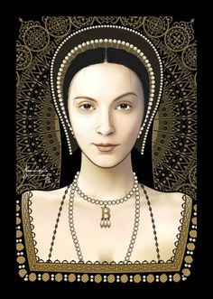 No one is sure exactly when King Henry Vlll noticed Anne but it is known that he sought her out to make her his mistress as he had done with her sister Mary years earlier. Anne completely denied the King all sexual favors. Anne did not have her sights set on being a king's whore, she wanted to be a Queen.