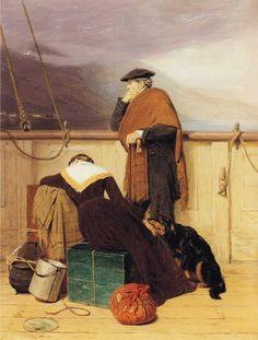 The Athenaeum - Lochaber No More (John Watson Nicol) @@@....@@@@....http://www.pinterest.com/dianademeridor/a-romantic-journey/