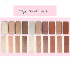 Novo Smooth Milk Eyeshadow Palette #Ad , #PAID, #Smooth#Novo#Milk Winter Dresses, Casual Dresses, Eyeshadow Palette, Milk, Smooth, Beauty, Casual Gowns, Dresses In Winter, Beauty Illustration