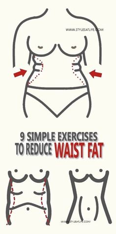 Exercising regularly helps us maintain the curvaceous figure and exclusively for the waistline. Here our 9 best exercises to reduce waist fat.
