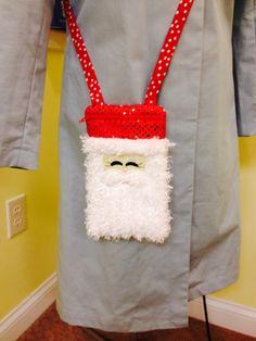 Santa purse
