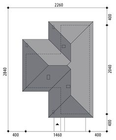 Nela V - Dobre Domy Flak & Abramowicz Village House Design, Bungalow House Design, Stair Plan, Three Bedroom House Plan, Weekend House, Closet Designs, Cool House Designs, Simple House, Future House