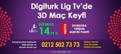 Digitürk | Play | Lig Tv | İnternet | Üyelik | Vip Servis