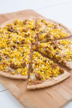 Sweet Corn, Sausage & Thyme Pizza
