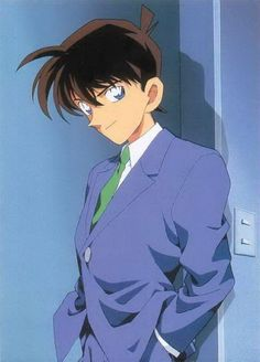 Anime with blue eyes and black hair. crunchyroll groups luvers page 5 Conan Movie, Detektif Conan, Guys With Black Hair, Detective Conan Ran, Otaku, Anime Guys Shirtless, Kaito Kid, Detective Conan Wallpapers, Kudo Shinichi