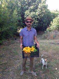 Dario insieme a Lilly dell'Azienda Agricola Il Noce!