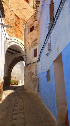 Arrabal morisco de Chelva, capital de la comarca valenciana de los Serranos.