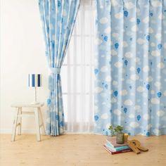 おおらかな青い空と気球で子供部屋を夢いっぱいにする「アナン」 | カーテンじゅうたん王国公式ブログ 「カーテン選びコンシェルジュ」