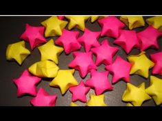 Video tutorial for 3-D origami paper stars (video narration in Spanish, easy to follow for non-Spanish speakers)