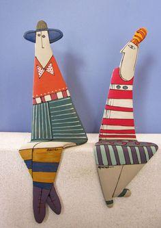 Ραφάτοι Shelfie G+H - Hobbies paining body for kids and adult Ceramic Clay, Ceramic Pottery, Pottery Art, Slab Pottery, Pottery Studio, Ceramic Bowls, Ceramic Figures, Clay Figures, Pottery Sculpture