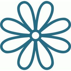 Silhouette Design Store - View Design #59629: daisy frame