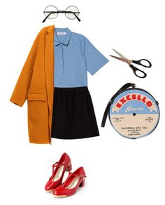 big yellow taxi by teen-angel on Polyvore featuring mode, Organic, Comptoir Des Cotonniers, Randa and Olympia Le-Tan