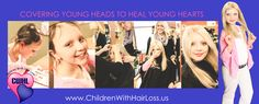 Children With Hair Loss. A non profit organization accepting hair donations to make wigs for children suffering hair loss.