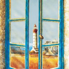 Out To Sea, Pictures To Paint, Oeuvre D'art, Les Oeuvres, Lighthouse, Sailor, Tower, Gallery, Artwork