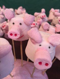 Original idea para aperitivo de una fiesta de cumpleaños de Peppa Pig. #Peppapig #party