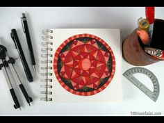 Episode 2: How to Draw Perfectly Symmetrical Mandalas for Beginners