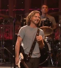 Eddie on SNL. I always wondered why he had his shirt on inside out here.