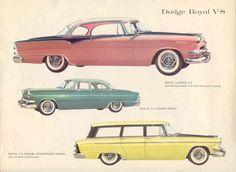 1955 Dodge Royals